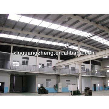 large span two story fabricated light steel frame structure aircraft hangar