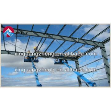 low cost prefab lightweight steel frame structure hangar