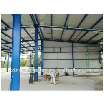 Steel structure prefab hangar buildings