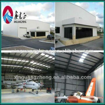 prefabricated steel structure airplane hangar for sale