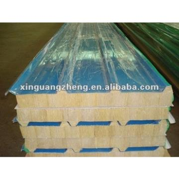 Prefab house roofing fire and warm Polystyrene(EPS) Sandwich Panel