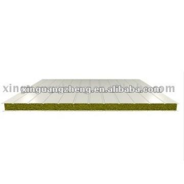 V-1150mm style glass wool Sandwich Panel for roofing /warehouse /prefab house home/building project