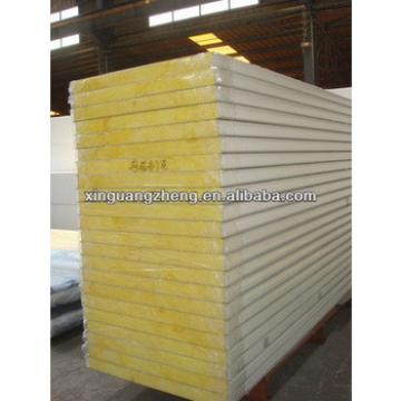 prefab glass wool wall sandwich panels