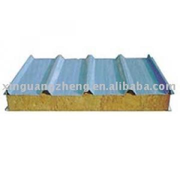 roof rock wool sandwich panel