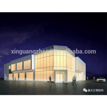 metal steel structure exhibition halls