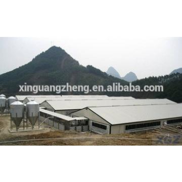 light steel structure prefabricated pig shed