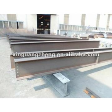 H section welded steel beam