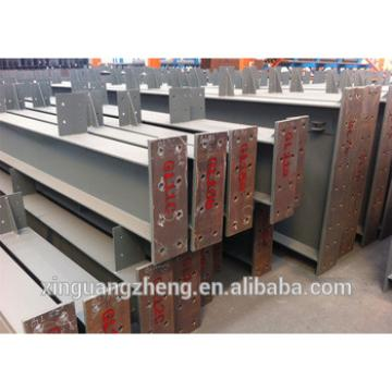Prefabricated H section warehouse steel parts