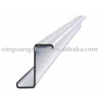 galvanized sheet and roof purlin Z steel beam Z section steel for prefabricated warehouse /steel building/poutry shed /garage