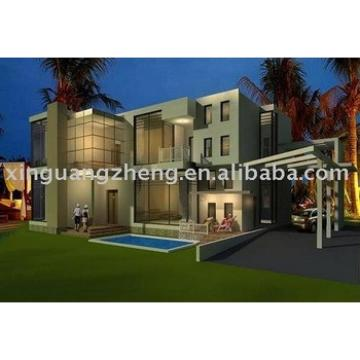prefabricated light steel houses and villas