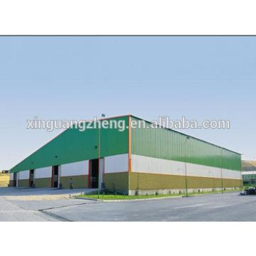 construction light steel structure prefabricated pig shed