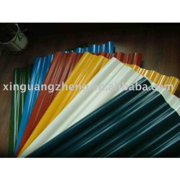 color coated steel roof tile,roof sheet,