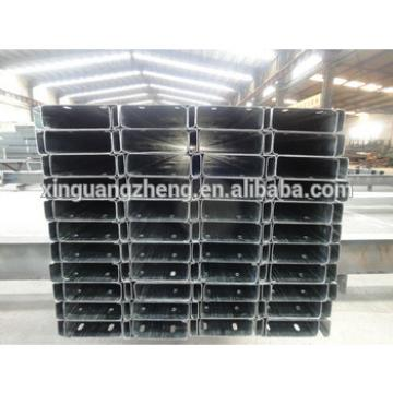 light weight cold rolled hot-dip galvanized steel c purlin