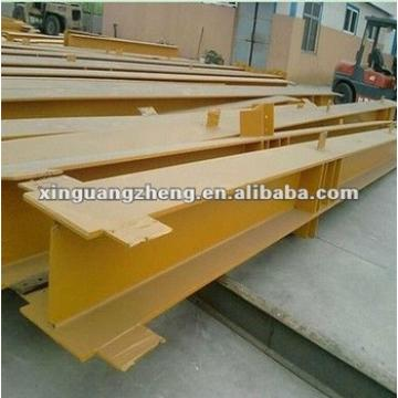 H Section steel structural beams and columns for steel warehouse