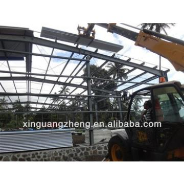 construction prefab steel frame building plant materials
