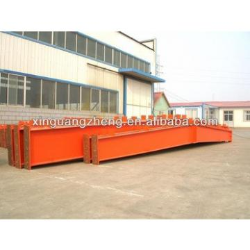 light weight fabricated metallic steel structure construction materials welded H beam