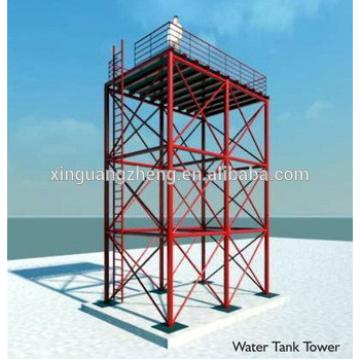 Alibaba high quality water tank tower for supporting