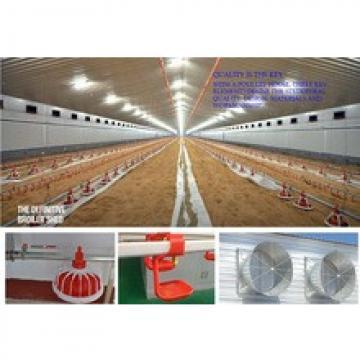 whole low cost prefab poultry farm house steel structure design
