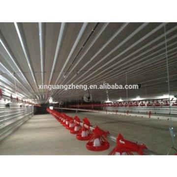 easy installation steel poultry shed building