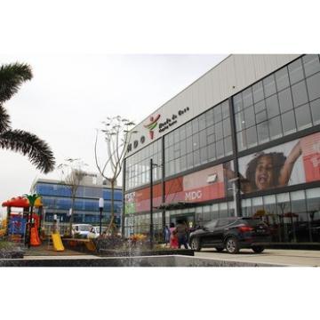 Professional prefab steel structure building for supermarket