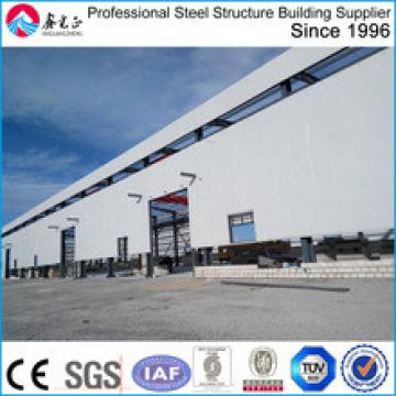 Light Prefabricated steel structure building workshop in china