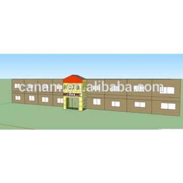 Steel prefab house modular steel structure building