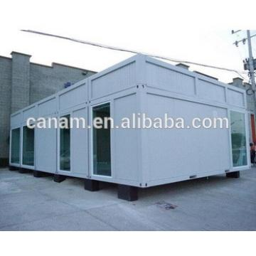 steel container house prefab temporary house of refugee