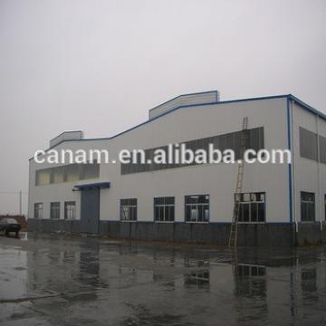 Auto workshop construction design steel structure warehouse