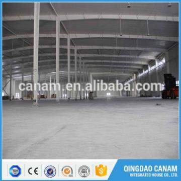High quality prefabricated workshop steel structure warehouse building by steel beam