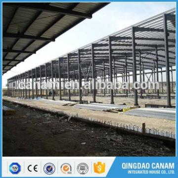 China supplier top prebuilt long span steel structure prefabricated warehouse building