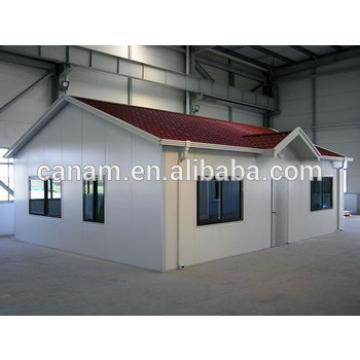 high quality ready made light steel structure house prefabricated home
