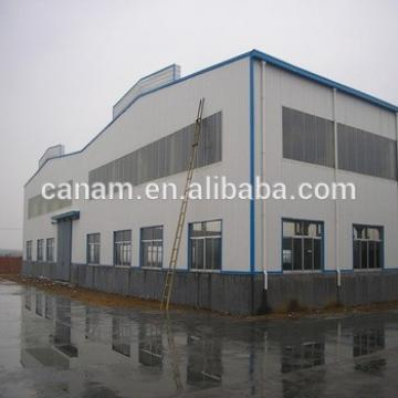 Widely used prefabricated steel structure two story hotel building Warehouse