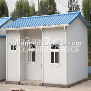 Sandwich Panel steel structure house building as garage