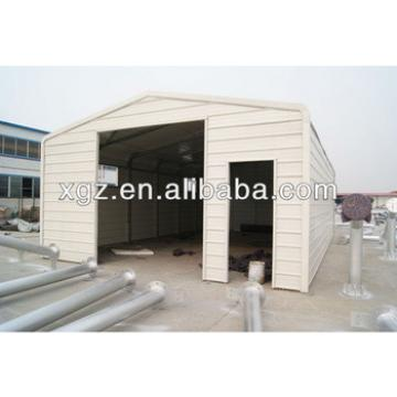 XGZ Prefab Steel Structure Car Garage for sales