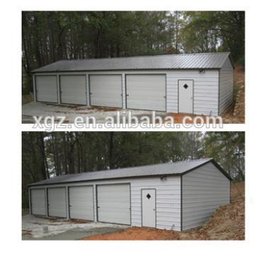 Prefabricated Light Frame Steel Structure Car Garage