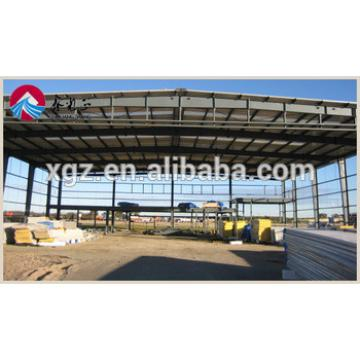 China Prefab Steel Structure Car Garage for sales