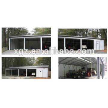 Light Frame Steel Structure Car Garage