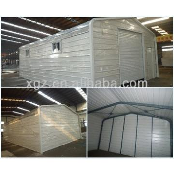 Prefab low cost steel car shed design