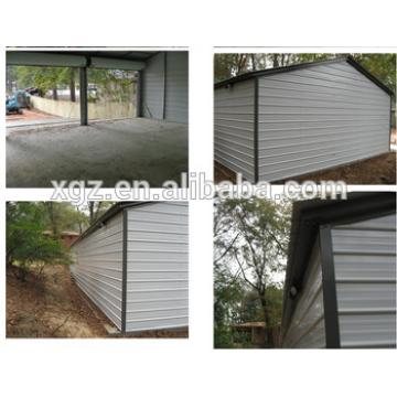 Beautiful Design Steel Structure Garage For Four Cars