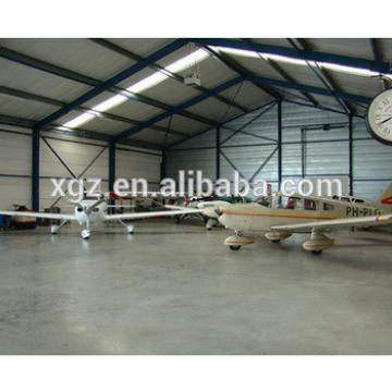 Light steel structure modular cheap aircraft hangar