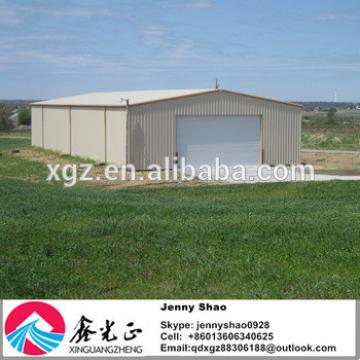 Large Low Cost Long Span China Metal Prefab Storage Shed
