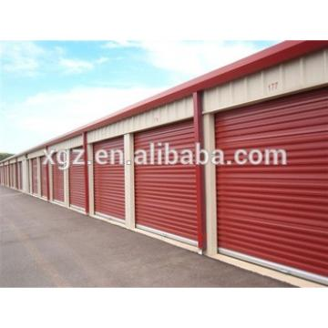 High Quality Prefab Low Cost Steel Car Shed Design