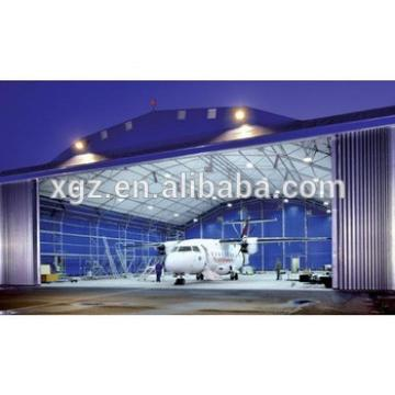 Metal roofing structure aircraft hangar prefabricated hall