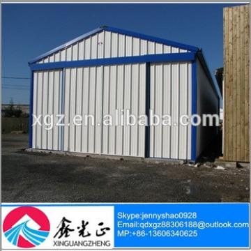 Portable light steel structure garage / carports made in China