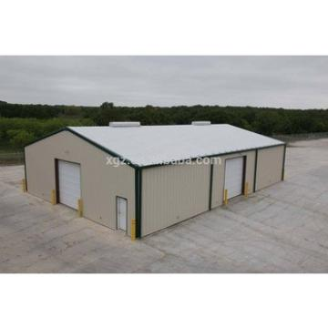 Prefabricated steel fabrication garage shed