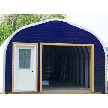 hot selling A model web steel structure prefab garage for sale in usa