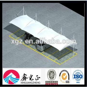 Steel Membrane Structure Car Garage Carport