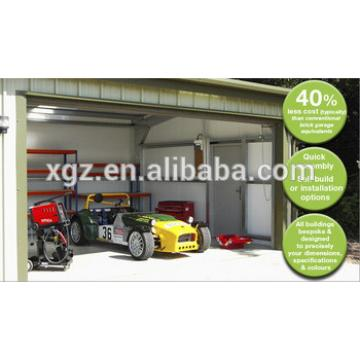 High quality Low cost Steel framed car garages