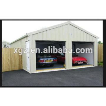 Classic Steel Structure Garage for car parking