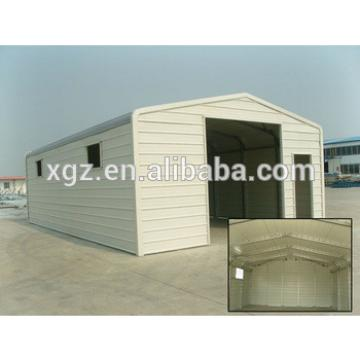 Simple personal steel portable garage for car